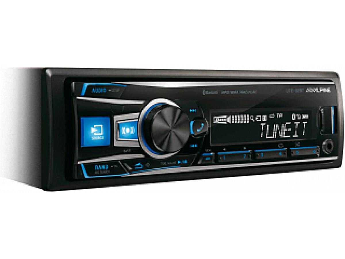 Автомагнитола Alpine UTE-92BT уже можно купить в нашем магазине