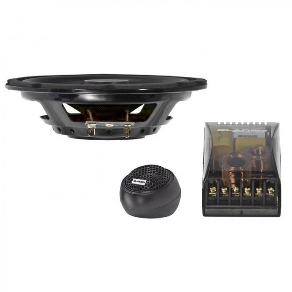 Компонентная акустика Gladen Audio RS 165 SLIM