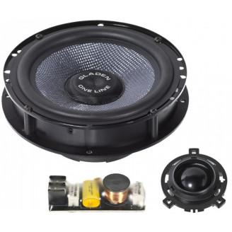 Штатная акустика для VW Gladen ONE 165 GOLF 6-RS