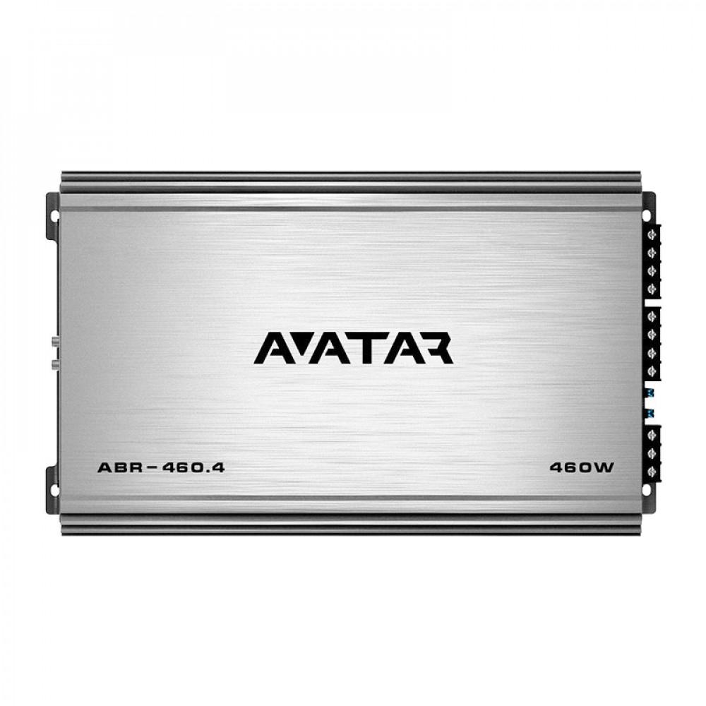 4-канальный усилитель Avatar ABR-460.4 Black