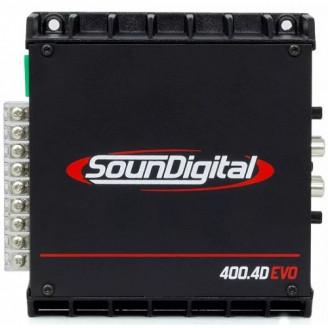 4-канальный усилитель SounDigital SD400.4D EVO