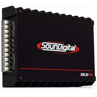 4-канальный усилитель Soundigital SD 800.4 EVO