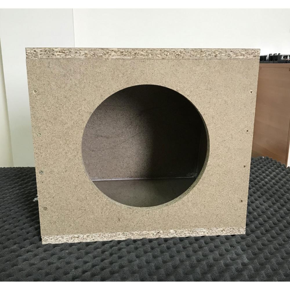 """Короб для сабвуфера 12"""" из фанеры на щели"""