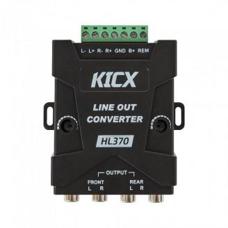 Преобразователь аудиосигнала Kicx HL 370