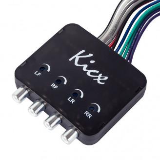 Преобразователь аудиосигнала Kicx HL04MS