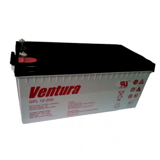 AGM аккумулятор Ventura GPL 12-200