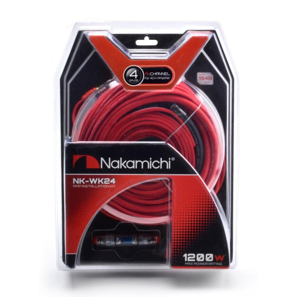 Комплект для 4-го усилителя Nakamichi NK-WK24 4GA