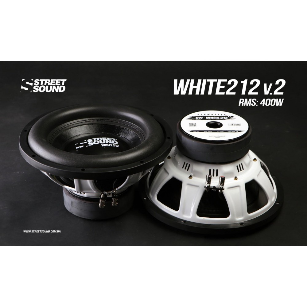 Сабвуфер Street Sound SW-WHITE212 V.2